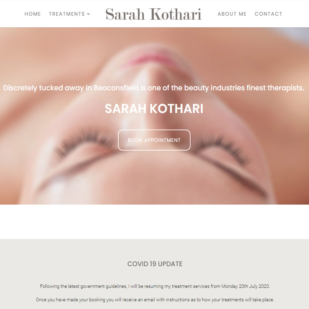 Sarah Website